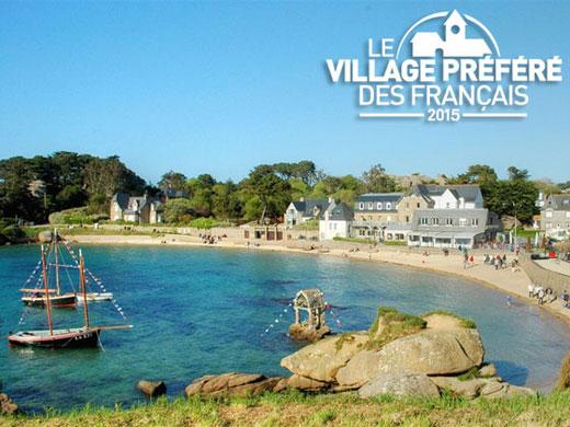 Ploumanac'h : village préféré des français 2015